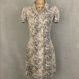Marvin Richards- Snake Print Sheath Dress